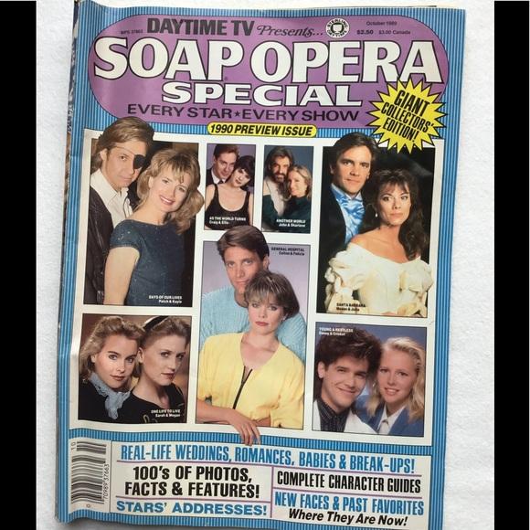 📺1989 Vintage Soap Opera Daytime TV Magazines